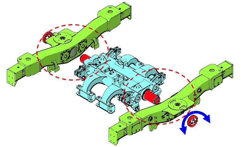 Mechanism of controlling decrement of wheel load